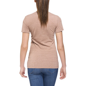 POLER Venn T-Shirt Femme, brown heather